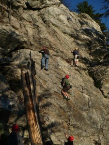 Rock climbing is a favorite of our campers.